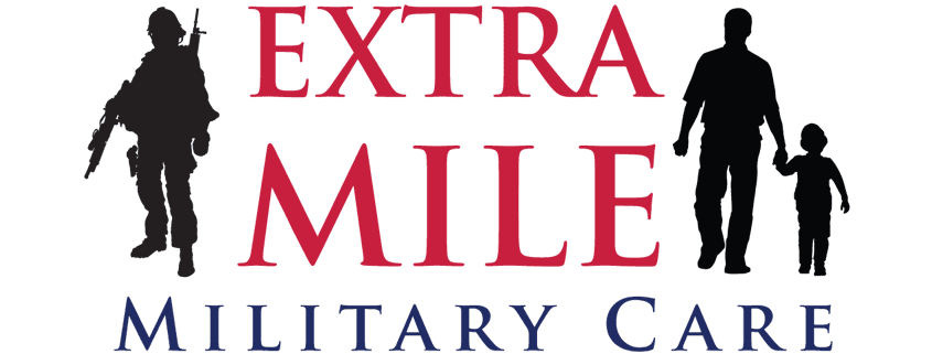 Extra Mile Military Care logo